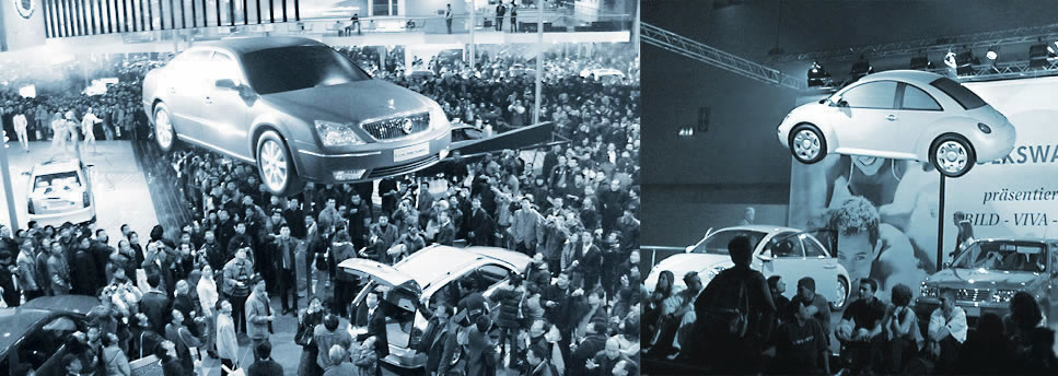 Flying Buick LaCrosse – Flying Car Made for Motorshows, Events, Promotions and Concerts