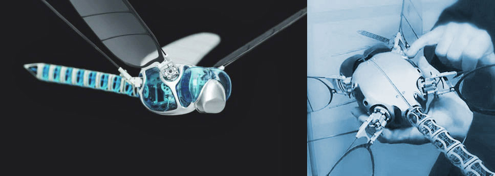 Festo Bionicopter – Flying Bionic Robot Inspired by the Dragonfly - Designed for Exhibitions & Events